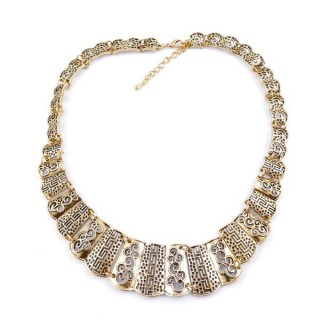 30669-20 SHORT METAL FASHION JEWELRY NECKLACE
