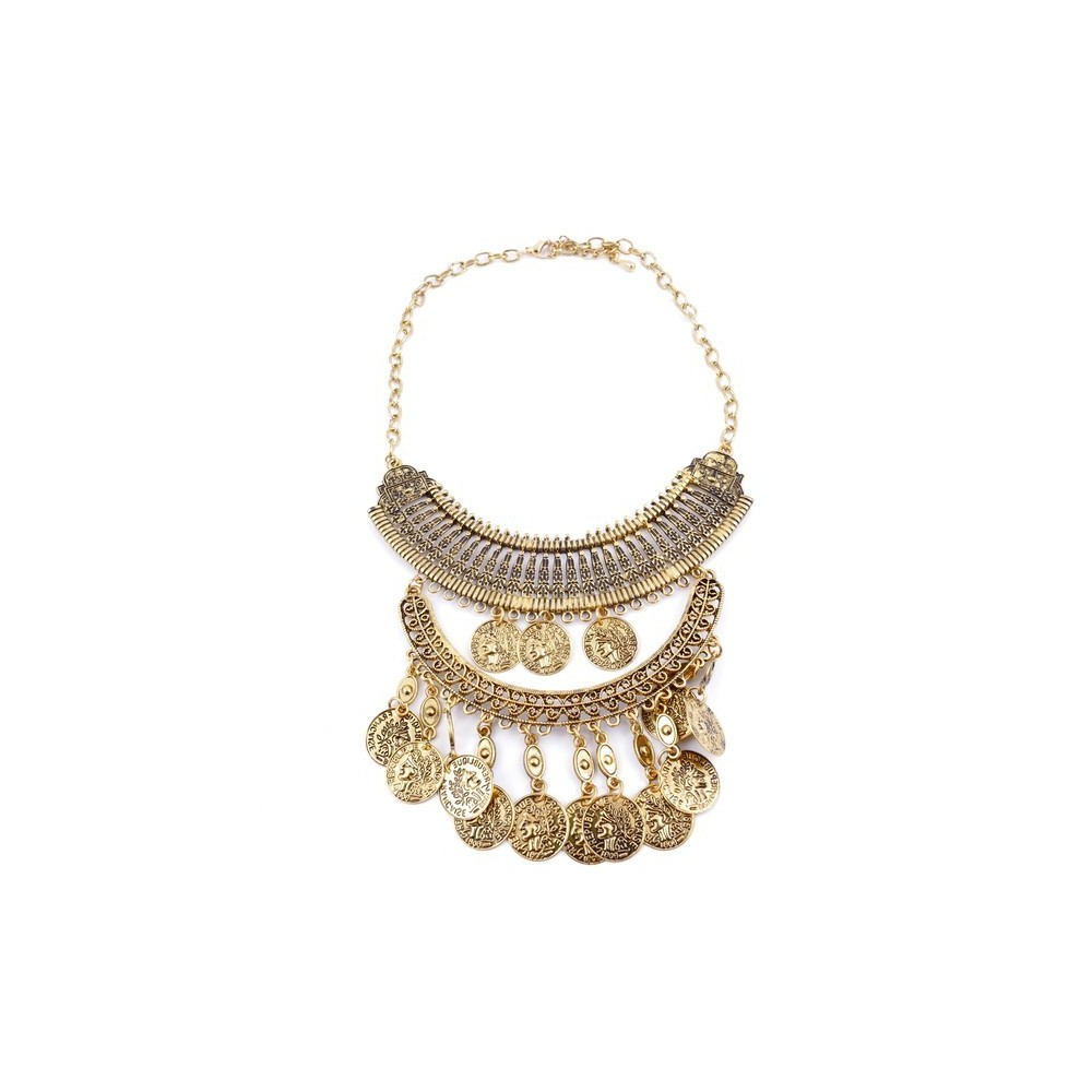 29171-04 SHORT METAL FASHION JEWELRY NECKLACE