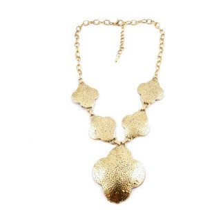 29171-134 SHORT METAL FASHION JEWELRY NECKLACE