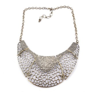 26113-100 SHORT METAL FASHION JEWELRY NECKLACE