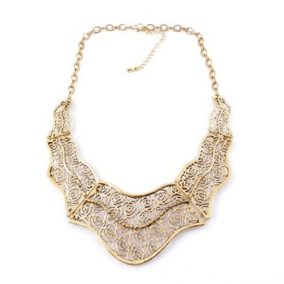 26113-32 SHORT METAL FASHION JEWELRY NECKLACE