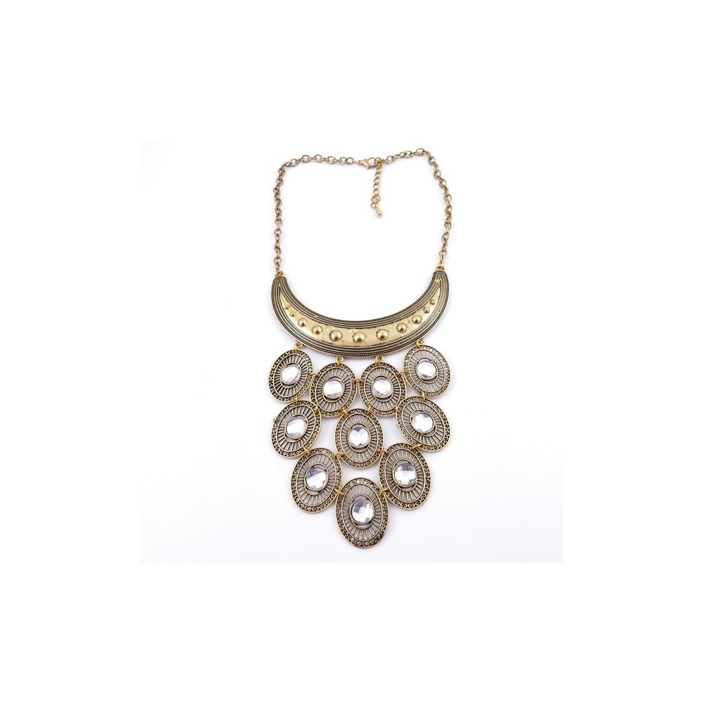 30669-47 SHORT METAL FASHION JEWELRY NECKLACE