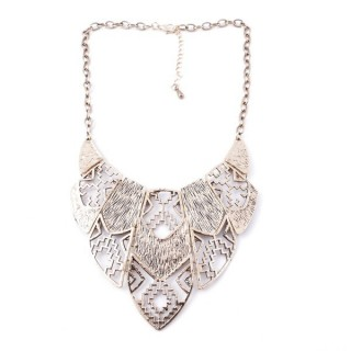 30669-10 SHORT METAL FASHION JEWELRY NECKLACE