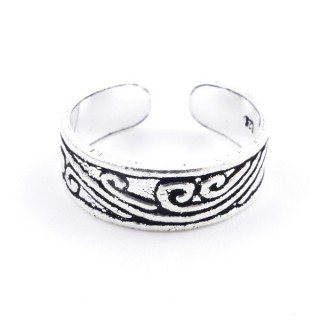 51035 STERLING SILVER 925 ADJUSTABLE TOE RING