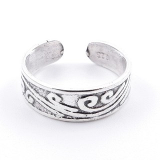 51042 STERLING SILVER 925 ADJUSTABLE TOE RING