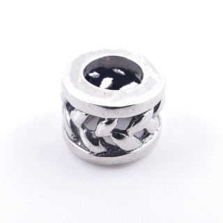 51048 STERLING SILVER CHARM FOR BRACELET 10 X 6 MM