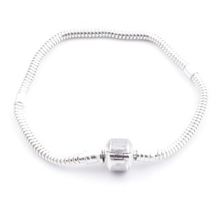 51066 STERLING SILVER 3 MM X 18 CM BRACELET FOR CHARMS