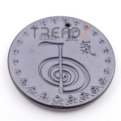 36974-07 COLGANTE CERAMICA 47 MM DE CHOKU REI & OM CON TITANIO