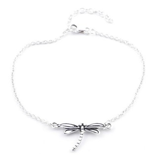 55148 STERLING SILVER 925 BRACELET WITH DRAGONFLY