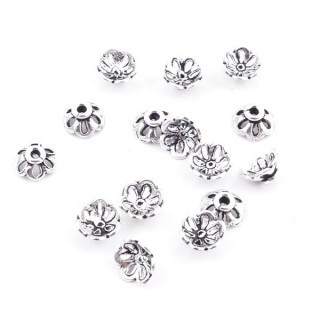 36693 PACK OF 15 CUPS OF 7 X 3 MM IN SILVER 925