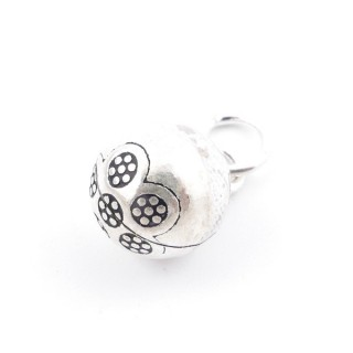 37127 STERLING SILVER 10 MM BELL CHARM