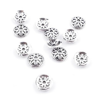 37131 PACK OF 12 SILVER 7 MM DIAMETER CUPS
