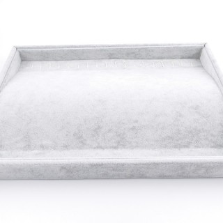 33781 GREY VELVET 35 X 24 MM DISPLAY TRAY FOR BRACELETS/CHAINS