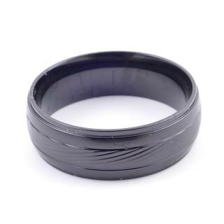 37742 PACK OF 10 STAINLESS STEEL RINGS IN ASSORTED SIZES. THICKNESS: 8 MM