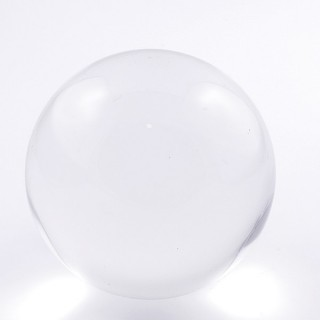 37572 TRANSPARENT CRYSTAL/GLASS 80 MM SPHERE