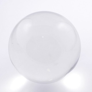 37573 TRANSPARENT CRYSTAL/GLASS 100 MM SPHERE