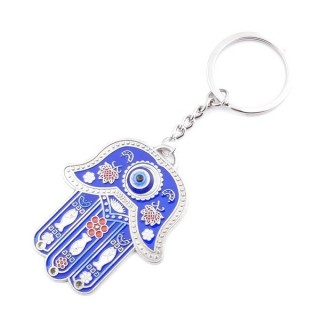 37367 METAL FASHION JEWELLERY KEYCHAIN WITH TURKISH EYE
