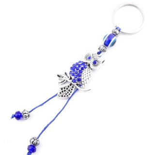 37365 METAL FASHION JEWELLERY KEYCHAIN WITH TURKISH EYE