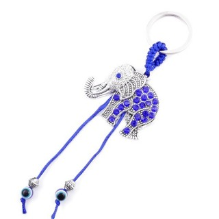 37360 METAL FASHION JEWELLERY KEYCHAIN WITH TURKISH EYE
