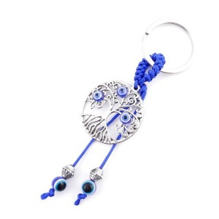 37354 METAL FASHION JEWELLERY KEYCHAIN WITH TURKISH EYE