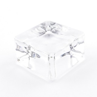 37565 GLASS DISPLAY STAND FOR SPHERES. TAMAÑO: 3.5 X 3.5 CM