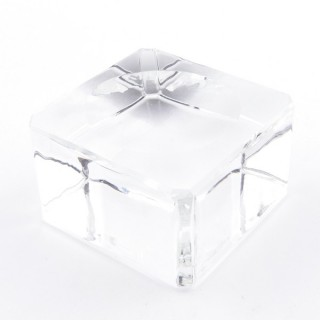 37565 GLASS DISPLAY STAND FOR SPHERES. TAMAÑO: 4 X 4 CM