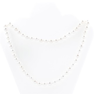 43071-01 SHELL PEARL 8 MM X 90 CM LONG NECKLACE