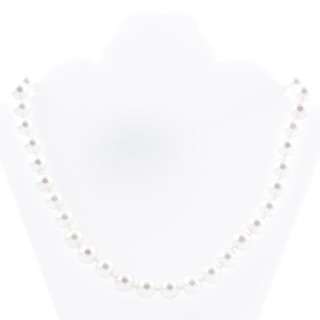 43065-01 SHELL PEARL 10 MM DIAMETER 45 CM LONG NECKLACE