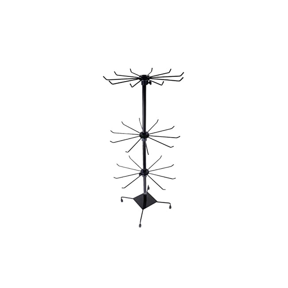 37657-02 ROTATING 3 LEVEL STAND FOR JEWELRY