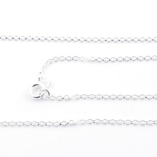 39577 STERLING SILVER 1.8 MM X 50 CM CHAIN: R000
