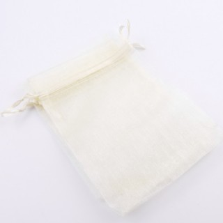 37386-05 PACK OF 100 ORGANZA GIFT BAGS. SIZE: 10 X 14 CM