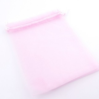 37388-04 PACK OF 100 ORGANZA GIFT BAGS. SIZE: 15 X 20 CM