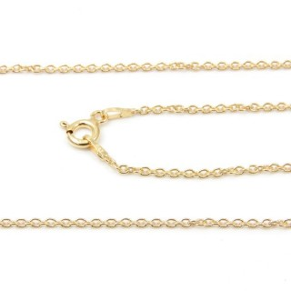 39265 FORZA 40 ND ORO 70 CMS STERLING SILVER CHAIN