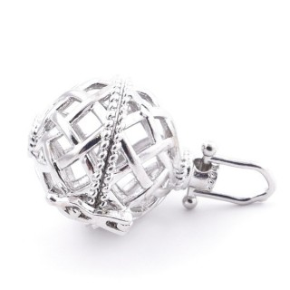 33686-08 FASHION JEWELLERY LOCKET FOR 16 MM BEADS