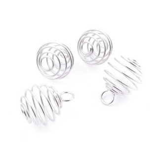 37667 PACK 25 METAL SPRINGS OF 15 MM