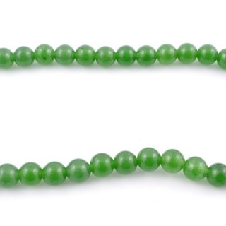 44255-01 40 CM STRING OF 8 MM DYED JADE BEADS