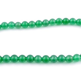 44255-03 40 CM STRING OF 8 MM DYED JADE BEADS