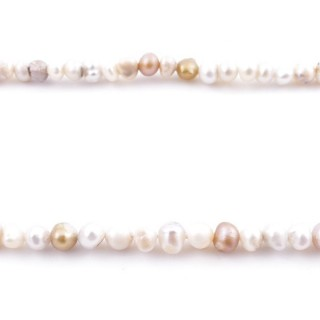 36131 32 CM LONG STRING OF 4 MM FRESHWATER PEARLS