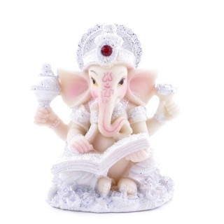 38349 RESIN GANESH SHAPED 8 X 6 X 4 CM FIGURE