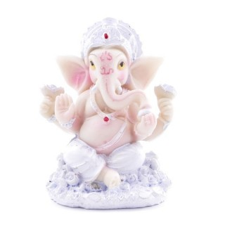 38350 RESIN GANESH SHAPED 8 X 5 X 4 CM FIGURE