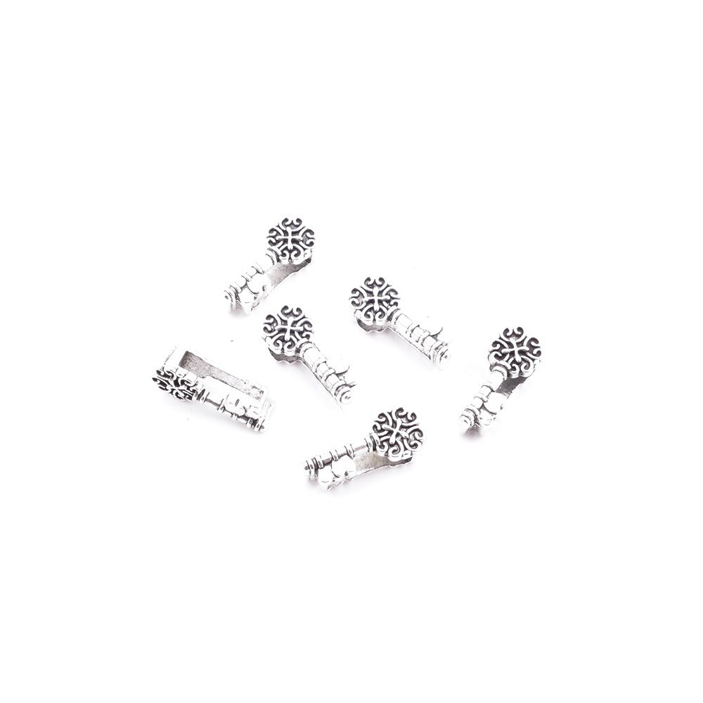 28226-11 PACK OF 16 FASHION JEWELRY METAL 16 X 6 MM ACCESSORIES