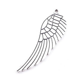 30846-07 PACK OF 5 PCS METAL WINGS FOR JEWELRY 48 X 16 MM