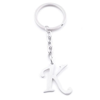 38105-11 STAINLESS STEEL KEYCHAIN WITH 3 CM LETTER