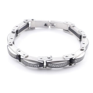 38878 STAINLESS STEEL 22 CM LONG AND 13 MM WIDE BRACELET
