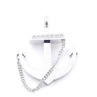 38874 STAINLESS STEEL ANCHOR SHAPED 40 X 33 MM PENDNAT