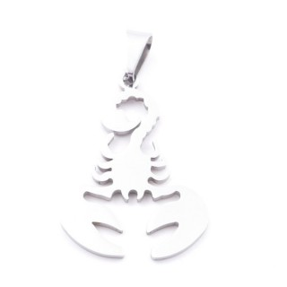 38868-20 CRAB SHAPED 37 X 25 MM STAINLESS STEEL PENDANT