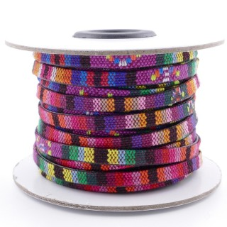 26009-15 ROLL OF FLAT ETHNIC CORD 5 MM X 10 M