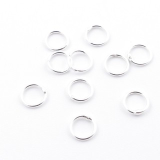 23608 PACK OF 30 SOLDERED SILVER 5 MM RINGS X 0.6 MM