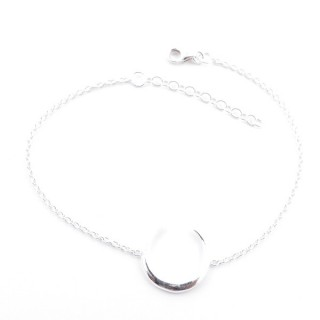 55421 STERLING SILVER 925 19 CM BRACELET WITH MOON