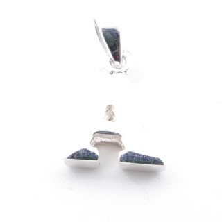 55427-01 SILVER 925 PENDANT 13 X 10 MM OF THE LETTER: A